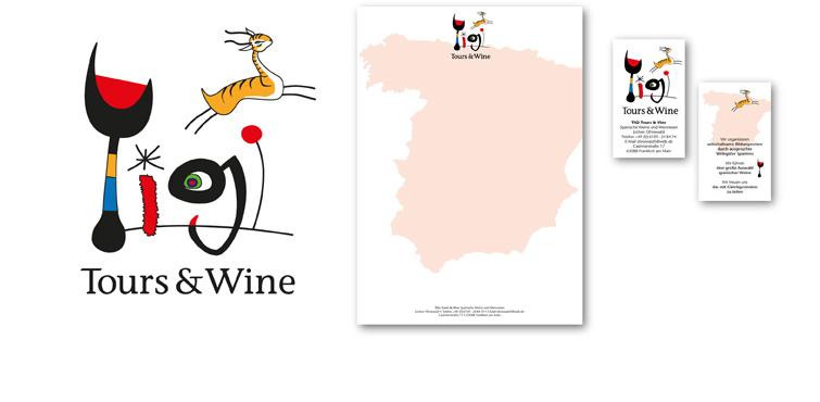 <b>Auftraggeber:</b> Tigi Tours and Wine, Spanischer Wein und Reisen, Frankfurt (M)